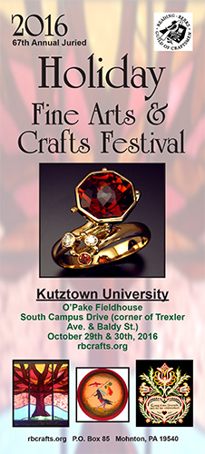 Holiday Fine Arts & Crafts Festival presented by Reading-Berks Guild of Craftsmen