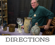 Directions to the Arts & Crafts Festival by Reading-Berks Guild of Craftsmen