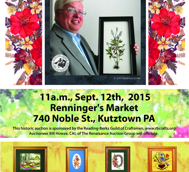 Eugene Burhart Jrs.'  Artwork Auction September 12