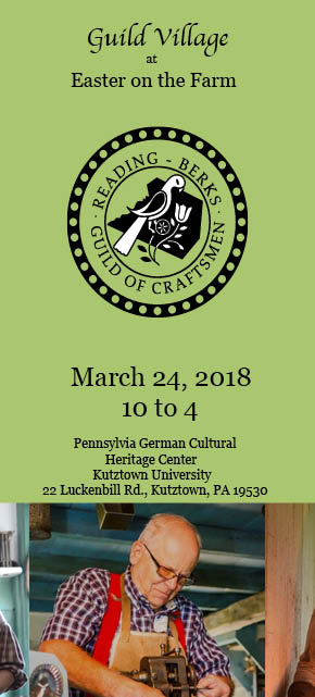 Spring Fine Arts and Crafts Festival presented by the Reading-Berks Guild of Craftsmen